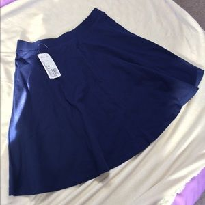 Two Skater Skirts! Navy & Black small F21
